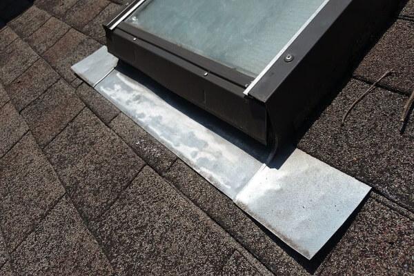 skylight vent flashing inspection
